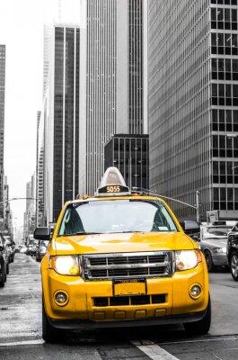 Sticker gelbes Taxi von New York