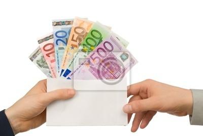 Sticker Geld erhalten