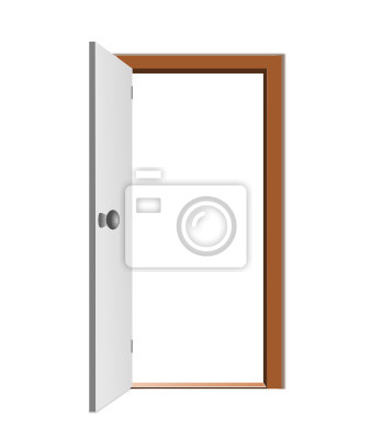 Geöffnet Tür