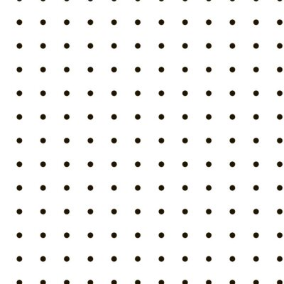 Geometric pattern black dots on white background, Abstract vector seamless texture
