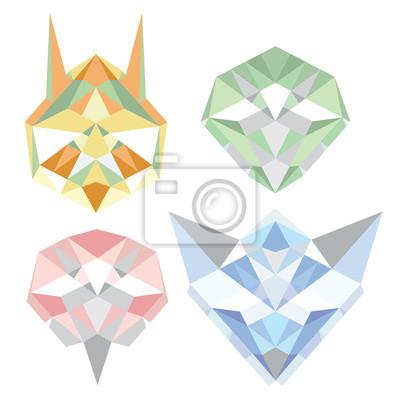 Geometric_polygon_animals
