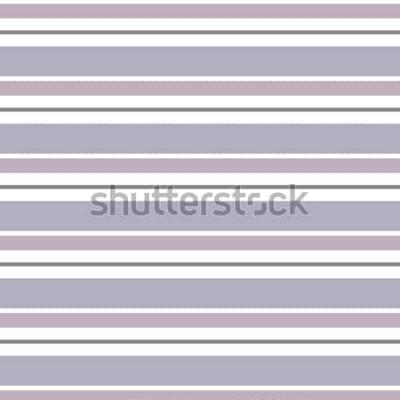 Sticker Geometrischer Hintergrund des abstrakten Vektors Horizontales gestreift Druck für Innenarchitektur und Gewebe