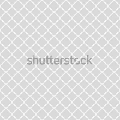 Sticker Geometrisches abstraktes nahtloses Muster. Klassischer Hintergrund. Vektor-illustration