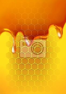 Geschmolzene Honig