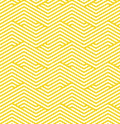 Sticker Gestreiften geometrischen Muster
