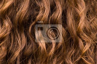 Gewellte Haar-Hintergrund