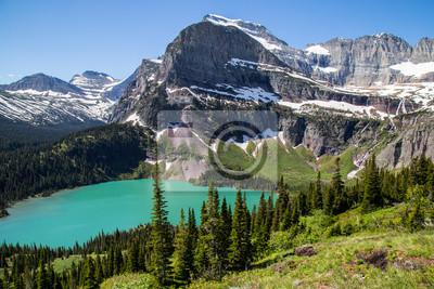 Sticker Glacier Nationalpark Montana Berge und Seen