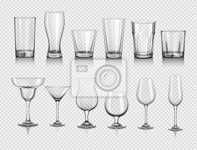 Sticker Gläser für Getränke