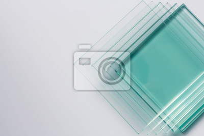 Sticker Glass Factory produces a variety of transparent glass thicknesses.