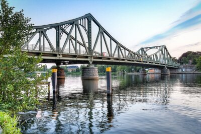 Sticker Glienicker Brücke Potsdam / Berlin