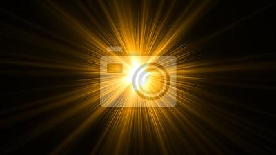 Sticker glühende abstrakte Sonne platzen mit digitalen Lens Flare.can Ihre Anpassung der Farbe der Lichtstrahlen mit Einstellschicht wie Gradient Selektive Farbe, und erzeugen Sonnenlicht, optische Flare