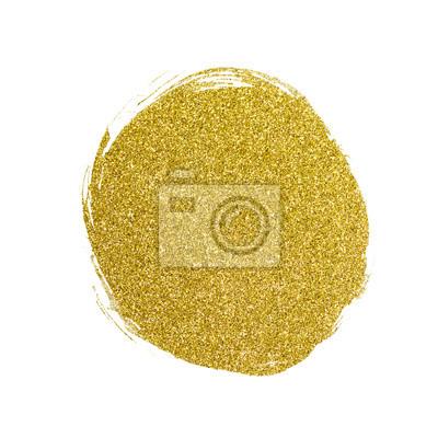 Gold glitter gemalt abstrakten Hintergrund