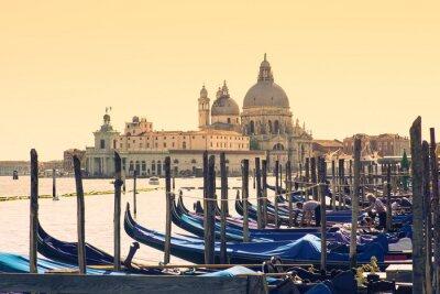 Sticker Gondeln, Venedig