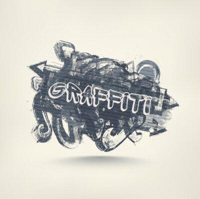 Sticker Graffiti-Kunst-