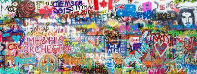 Sticker Graffiti Panorama