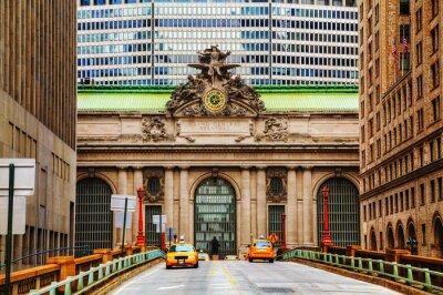 Sticker Grand Central Terminal in New York viaduc