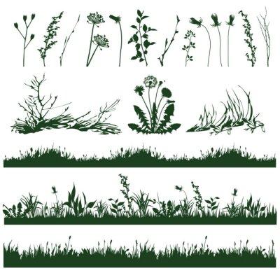 Sticker Gras