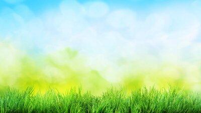 Sticker Gras Hintergrund
