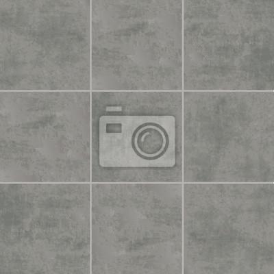 Sticker Grau Fliesen Textur