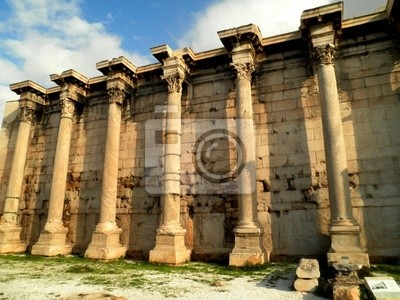 Greek Ruined Wall