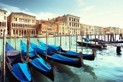 Sticker Großartiger Kanal, Venedig, Italien