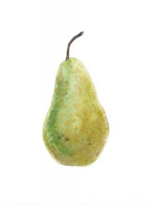 Sticker grüne Birne