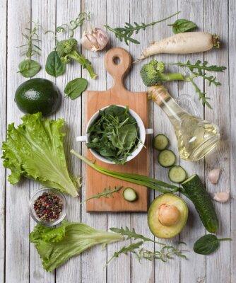 Sticker grünes Gemüse