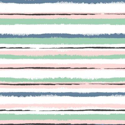 Sticker Grunge gestreiften nahtlose Muster, Jahrgang Hintergrund, zum Verpacken, Tapeten, Textil