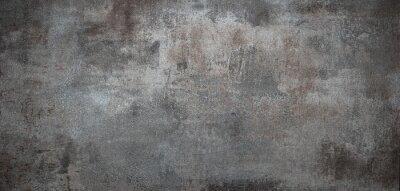 Sticker Grunge Metall Textur