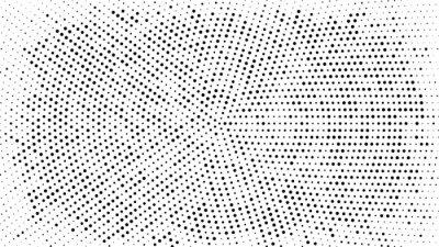 Sticker Halbton gepunkteten Hintergrund. Halbton-Effekt-Vektor-Muster. Kreispunkte lokalisiert auf dem weißen Hintergrund.