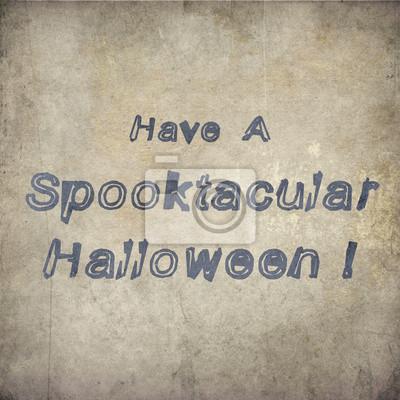 Halloween Wörter auf alten Grunge Hintergrund