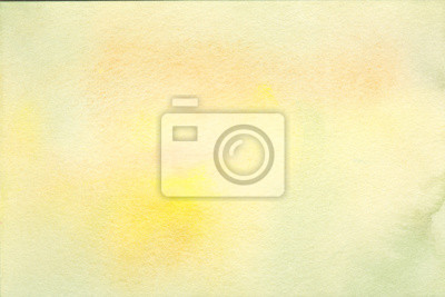 Hand painted watercolor background texture sunny yellows