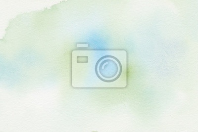 hand painted watercolor background textures with soft green and blue