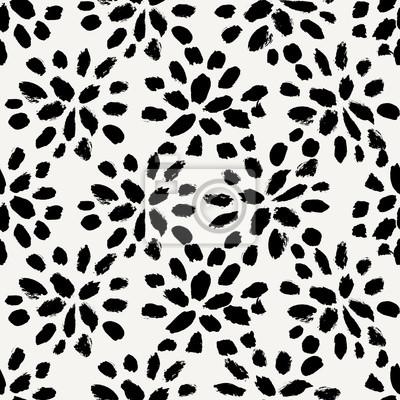 Handgezeichneten Blumen Nahtlose Muster