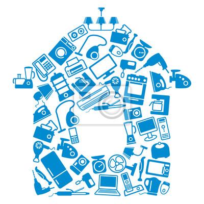 Haushaltsgeräte für Haus