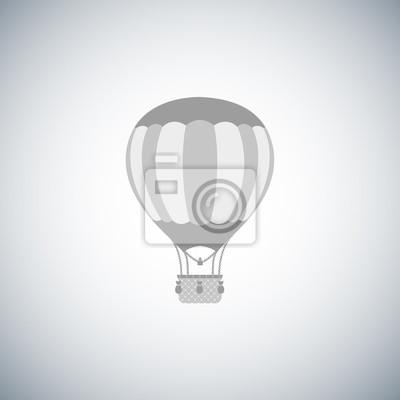 Heißluftballon.