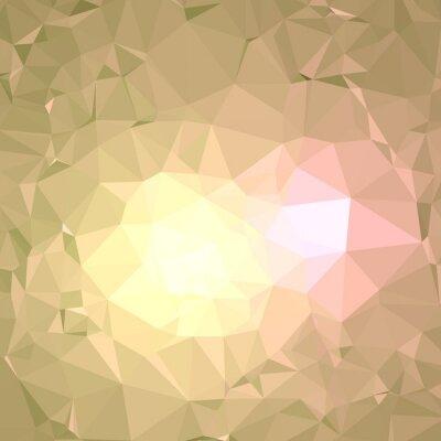 Helle bunte poligonalen Hintergrund. Goldbeschaffenheit.