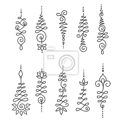 Henna Tattoo Flower Template Mehndi Vector