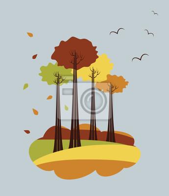 Herbstbäume fotolia
