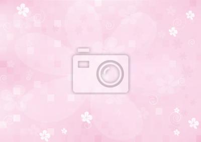 Hintergrund, schöne rosa Blüten