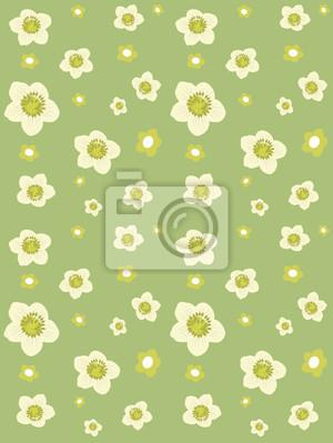 Hintergrund von Blumen. Vector
