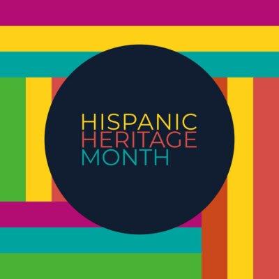 Sticker hispanic heritage month