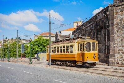 Sticker Historische Tram, Porto