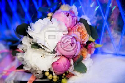 Hochzeit Bouquet Mit Pfingstrosen Rosa Und Weisse Blumen Notebook