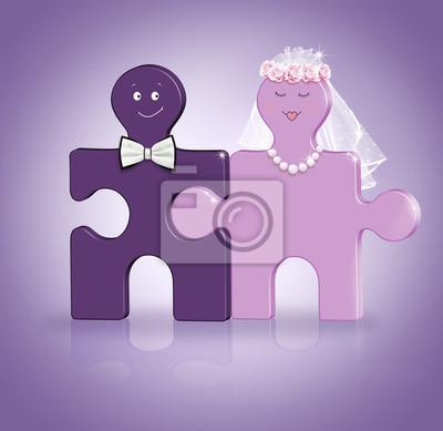 Hochzeit Konzept