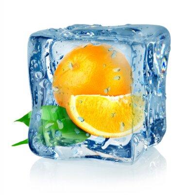 Ice Cube und orange