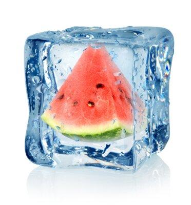 Ice Cube und Wassermelone