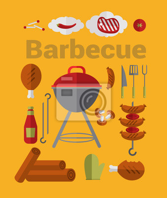 Icons Barbecue Grill