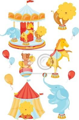 Icons mit Zirkus