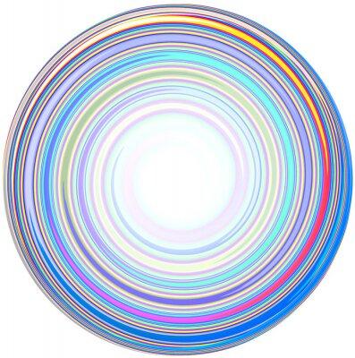Sticker Illustration der abstrakten Mandala